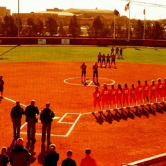 Photo taken at TTU - Rocky Johnson Field by Elvis M. on 3/12/2012