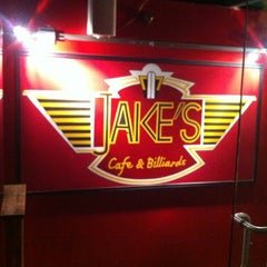 Photo taken at Jake's Burgers & Billiards by Kevin on 8/25/2012