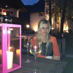 Photo taken at Schloss Prielau Hotel And Restaurant Zell am See by Felix M. on 8/3/2012