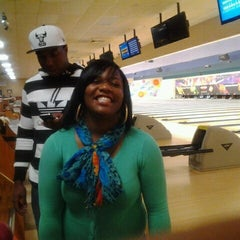 Photo taken at AMF Western Branch Lanes by Teneashia S. on 4/2/2012