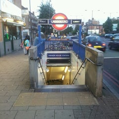 Photo taken at Manor House London Underground Station by Oisin M. on 7/6/2012