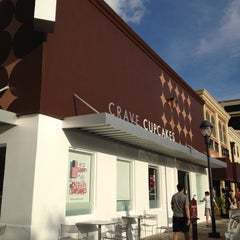 Photo taken at Crave Cupcakes by Mona.91 on 7/1/2012