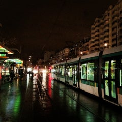 Photo taken at Station Porte de Versailles [T2,T3a] by MikaelDorian on 2/15/2012