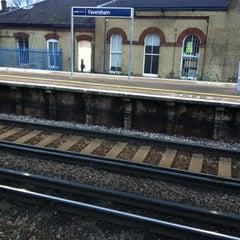 Photo taken at Faversham Railway Station (FAV) by Chris A. on 2/21/2012