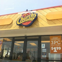 Photo taken at Church's Chicken by Angela J. on 6/16/2012