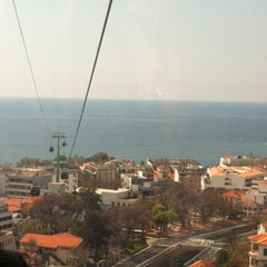 Photo taken at Teleférico do Funchal by Mimi M. on 4/1/2012