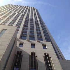 Photo taken at First National Tower by Joe C. on 5/17/2012