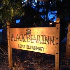 Photo taken at Black Bear Inn by Ana S. on 2/20/2012