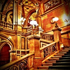 Photo taken at Wiener Staatsoper by Lin H. on 7/13/2012