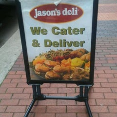 Photo taken at Jason's Deli by Marcus on 2/9/2012
