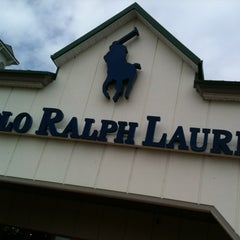 Photo taken at Polo Ralph Lauren Factory Store by Thilina R. on 5/12/2012