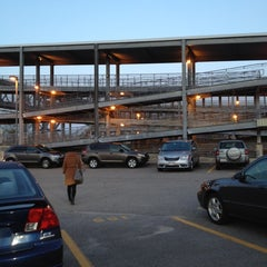 Photo taken at MBTA Canton Junction Station by Erin M. on 4/25/2012