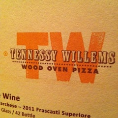 Photo taken at Tennessy Willems Wood Oven Pizza by Jeff @ m. on 9/1/2012