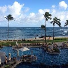 Photo taken at Sheraton Kauai Resort by Heidi R. on 7/30/2012