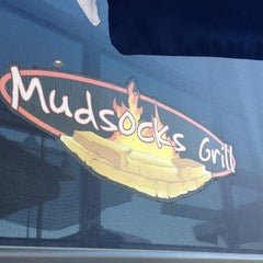 Photo taken at Mudsocks Grill by Tom M. on 8/18/2012