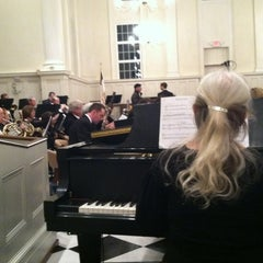 Photo taken at First presbyterian church by Andrew H. on 2/19/2012