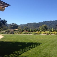 Photo taken at Brix Restaurant and Gardens by Cara O. on 9/2/2012