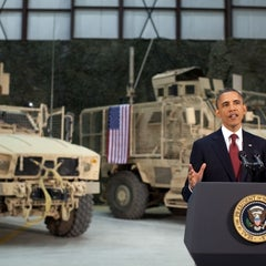 Photo taken at Bagram Airfield (OAI) by The White House on 5/9/2012