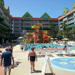 Photo taken at Nickelodeon Suites Resort by Nick M. on 4/4/2012