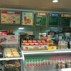 Photo taken at Krispy Kreme Doughnuts by Ashley H. on 6/3/2012