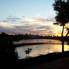 Photo taken at Represa Municipal by Rafael G. on 3/12/2012