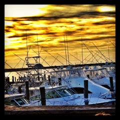 Photo taken at Oakland's Restaurant & Marina by Fischetti, J. on 7/10/2012