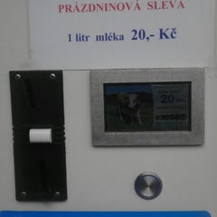 Photo taken at Mlékomat by Tomáš K. on 9/6/2012
