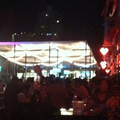 Photo taken at Bangkok Bistro Riverfront by Tudtu L. on 3/4/2012