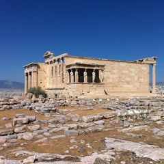 Photo taken at Ακρόπολη Αθηνών (Acropolis of Athens) by Илья Б. on 9/3/2012