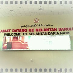 Photo taken at Sultan Ismail Petra Airport (KBR) by Ery R. on 3/31/2012