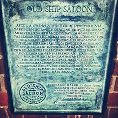 Photo taken at Old Ship Saloon by Mulle on 4/7/2012