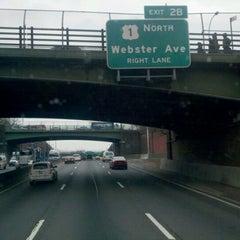 Photo taken at Cross Bronx Expressway (I-95) by Rodney B. on 2/15/2012