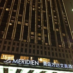 Photo taken at Le Méridien Qingdao by Sharm G. on 6/1/2012