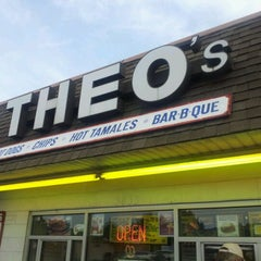 Photo taken at Theo's by Dalton S. on 5/19/2012