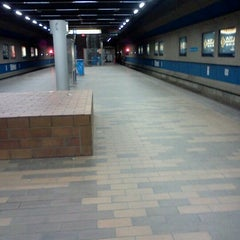 Photo taken at Churchill LRT Station by Don P. on 3/10/2012