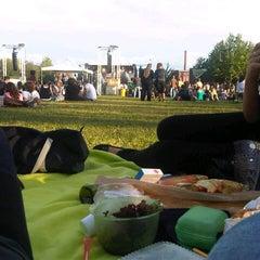 Photo taken at Nordstadtpark by Moritz B. on 8/25/2012