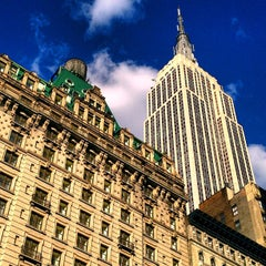 Photo taken at Herald Square by Dave O. on 9/10/2012