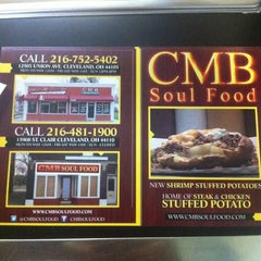 Photo taken at CMB Soul Food by Ramone T. on 5/8/2012