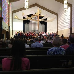 Photo taken at First United Methodist Church of Boulder by Mike G. on 5/13/2012