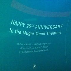 Photo taken at Mugar Omni IMAX Theatre by Geoff S. on 7/7/2012