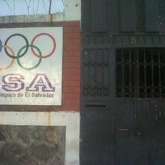Photo taken at Comité Olímpico de El Salvador by Taxi S. on 2/21/2012