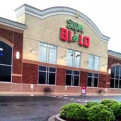 Photo taken at Super Bi-Lo by Loren W. on 7/20/2012