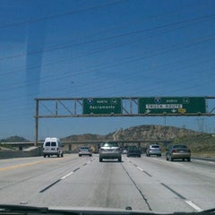 Photo taken at I-5 (Golden State Freeway) by Isaac M. on 5/16/2012