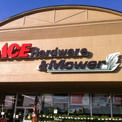 Photo taken at S&S Ace Hdw Mower-Buford by Greg F. on 4/25/2012