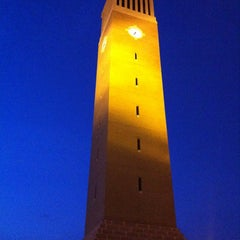 Photo taken at Albritton Bell Tower by Brian A. on 3/2/2012