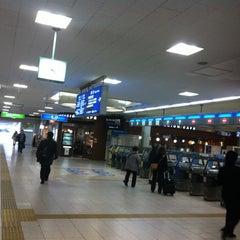 Photo taken at 茨木駅 (Ibaraki Sta.) by Pinky S. on 2/20/2012