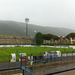 Photo taken at Stadio Lungo Bisenzio by Mariano S. on 5/6/2012