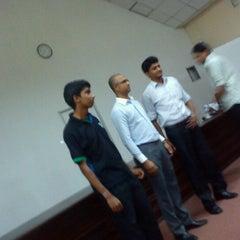 Photo taken at NIBM Auditorium by Hiyal B. on 9/12/2012