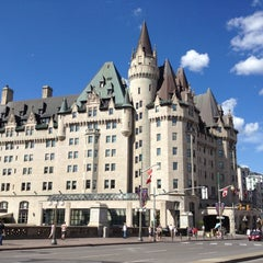 Photo taken at Fairmont Château Laurier by Anil P. on 7/2/2012