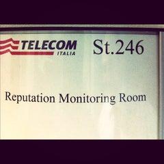 Photo taken at Telecom Italia by Alessio J. on 7/25/2012